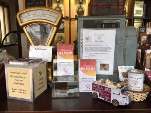 Spendenbox von Human Projects