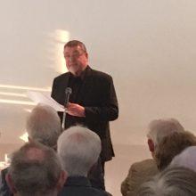 Buchvorstellung von Pfarrer Boch am 15.5.2017 im Gemeindehaus Warmbronn