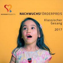 """Nachwuchsförderpreis """"Klassischer Gesang"""""""