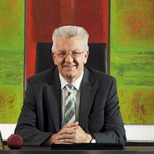 Winfried Kretschmann wird Schirmherr der Löwen-Verleihung
